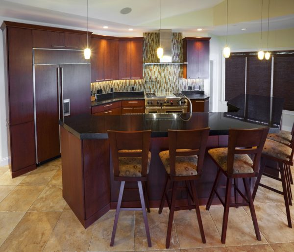 kitchen decorating ideas and designs Remodels Photos KSID Interiors, Inc.Springfiel Illinois United States modern-kitchen