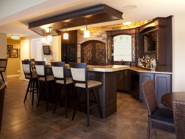 kitchen decorating ideas and designs Remodels Photos KSID Interiors, Inc.Springfiel Illinois United States rustic-kitchen
