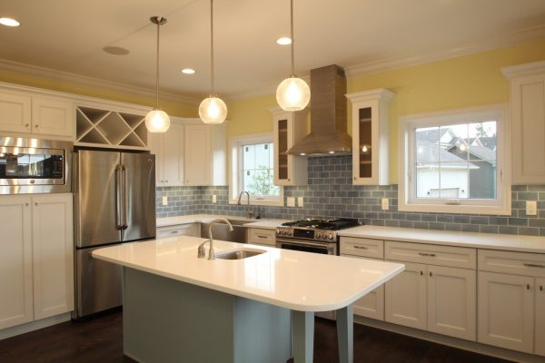 kitchen decorating ideas and designs Remodels Photos Peninsula Development Company Iowa City United States transitional-kitchen-002