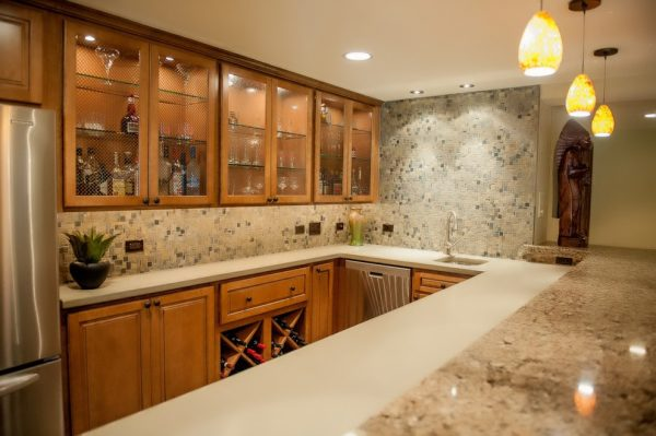 kitchen decorating ideas and designs Remodels Photos Redux Interior Design Lake Zurich Illinois United States traditional-basement