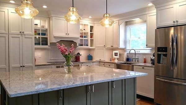 kitchen decorating ideas and designs Remodels Photos True Identity Concepts Westchester CountyNew York United States transitional-kitchen
