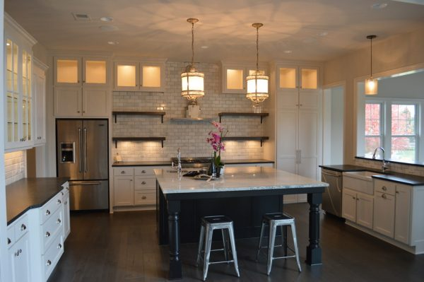 kitchen decorating ideas and designs Remodels PhotosMadi Mali Homes, LLC Overland Park Kansas United States traditional-kitchen