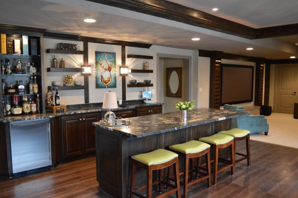 kitchen decorating ideas and designs Remodels PhotosMadi Mali Homes, LLC Overland Park Kansas United States transitional-basement