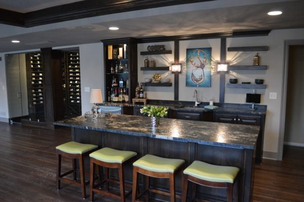 kitchen decorating ideas and designs Remodels PhotosMadi Mali Homes, LLC Overland Park Kansas United States transitional-home-bar