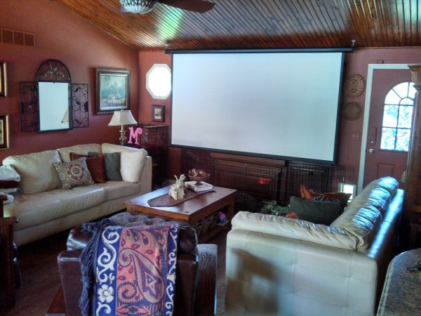 living room decorating ideas and designs Remodels Photos A'LLURE INTERIOR DESIGN BY RENE Andover Kansas transitional-home-theater