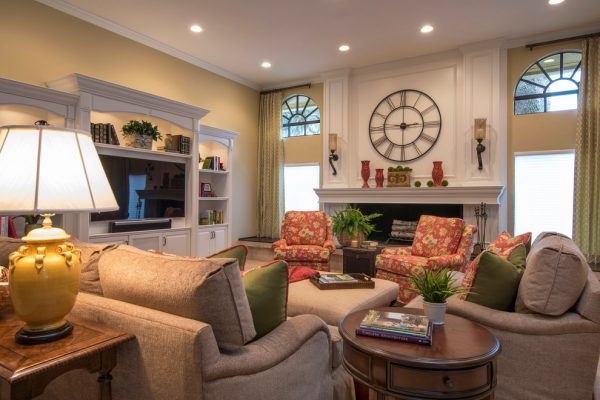 living room decorating ideas and designs Remodels Photos Angela Gutekunst Interiors Inc Ridgewood New Jersey transitional-family-room