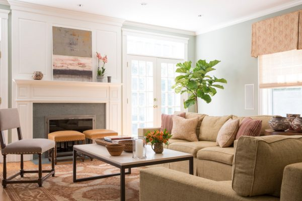 living room decorating ideas and designs Remodels Photos Christine Tuttle Interior Design Dedham Massachusetts traditional-family-room