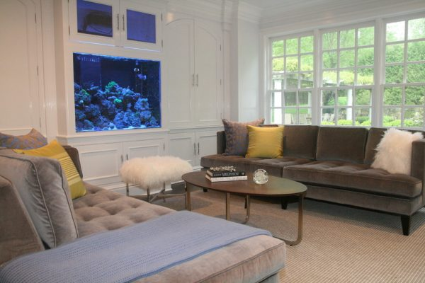 living room decorating ideas and designs Remodels Photos Courtney Kleeman Design Wilton Connecticut United States eclectic-family-room