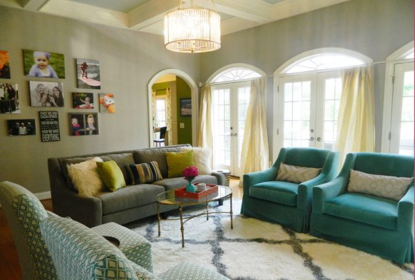 living room decorating ideas and designs Remodels Photos DUO DESIGN STUDIO Greenville South Carolina United States contemporary-living-room