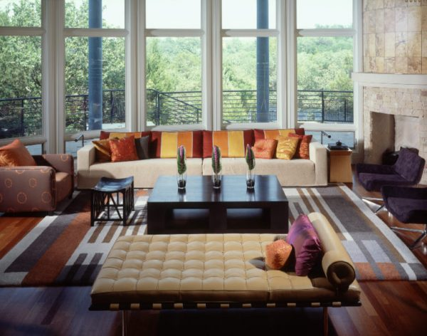 living room decorating ideas and designs Remodels Photos Inside Inc Fort Worth Texas United States contemporary-living-room