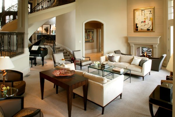 living room decorating ideas and designs Remodels Photos Inside Inc Fort Worth Texas United States traditional-living-room
