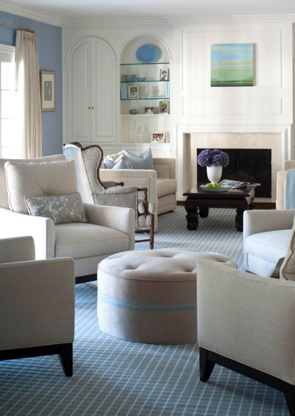 Living Room Decorating And Designs By Kate Singer Home