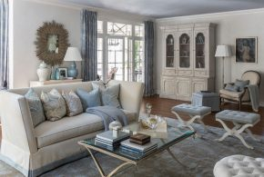 Living Room Decorating and Designs by Kate Singer Home - Huntington, New York, United States