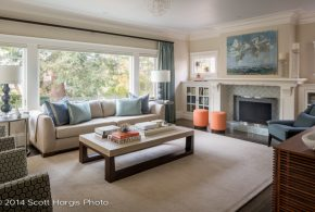 Living Room Decorating and Designs by Koch Neve Interior Design - Alamo, California, United States