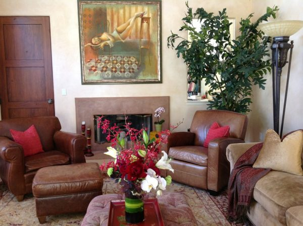 living room decorating ideas and designs Remodels Photos Linda Banks Interiors Sausalito California United States eclectic-living-room