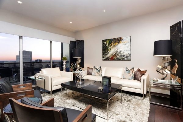 living room decorating ideas and designs Remodels Photos MMI Design HoustonTexas United States contemporary-living-room-001