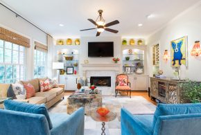 Living Room Decorating and Designs by MMI Design - Houston, Texas, United States