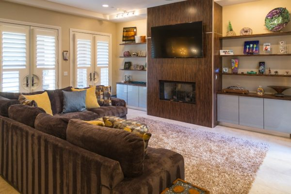 living room decorating ideas and designs Remodels Photos Modify Your Space Las Vegas Nevada United States contemporary-family-room