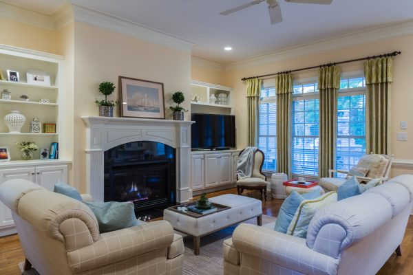 living room decorating ideas and designs Remodels Photos Paige Designs LLC Cary North Carolina United States family-room-001