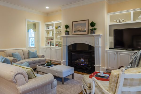 living room decorating ideas and designs Remodels Photos Paige Designs LLC Cary North Carolina United States family-room