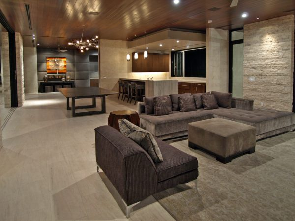 living room decorating ideas and designs Remodels Photos RIVER NORTH Las Vegas Nevada United States contemporary-living-room-002