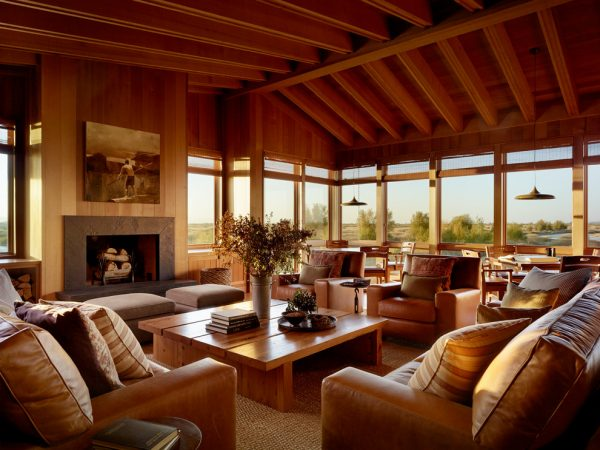 living room decorating ideas and designs Remodels Photos Stone Interiors San Francisco California United States rustic-family-room