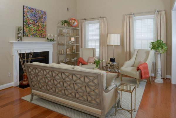 living room decorating ideas and designs Remodels Photos Sue Rosenbaum Woodbridge Virginia United States transitional-living-room-001