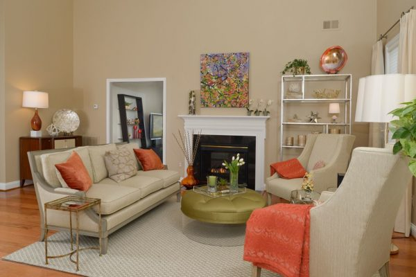 living room decorating ideas and designs Remodels Photos Sue Rosenbaum Woodbridge Virginia United States transitional-living-room