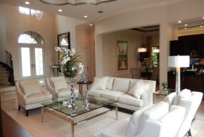 Living Room Decorating and Designs by Veller-Welsh Interiors - Deerfield Beach, Florida, United States