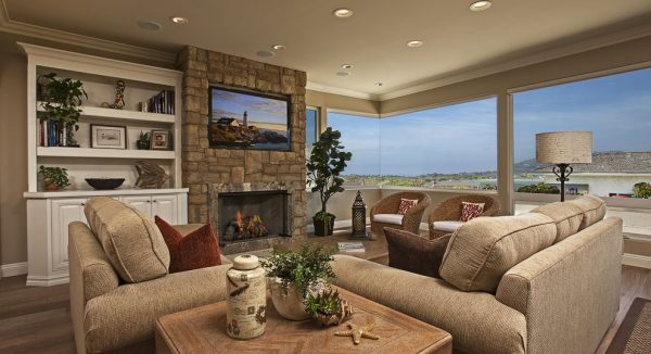 living room decorating ideas and designs Remodels Photos Wesley Design Inc Laguna Nigue California United States beach-style-family-room