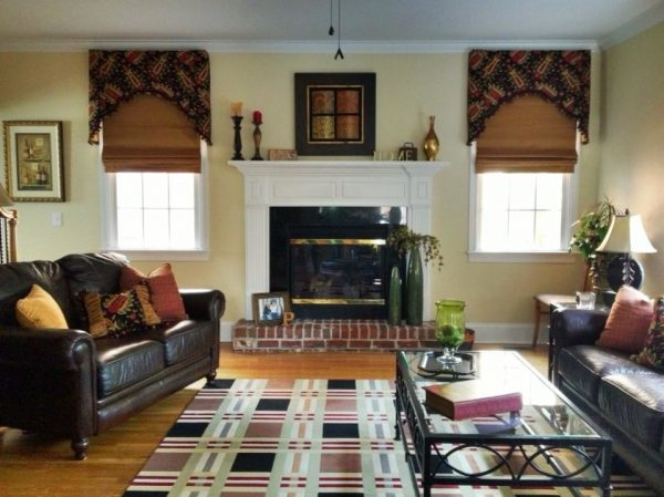 living room decorating ideas and designs Remodels Photos Window Works Studio, Inc Jamestown North Carolina United States traditional