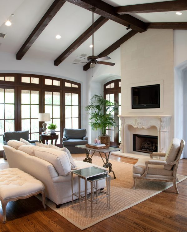 living room decorating ideas and designs Remodels Photos grettworks Houston Texas United States traditional-living-room
