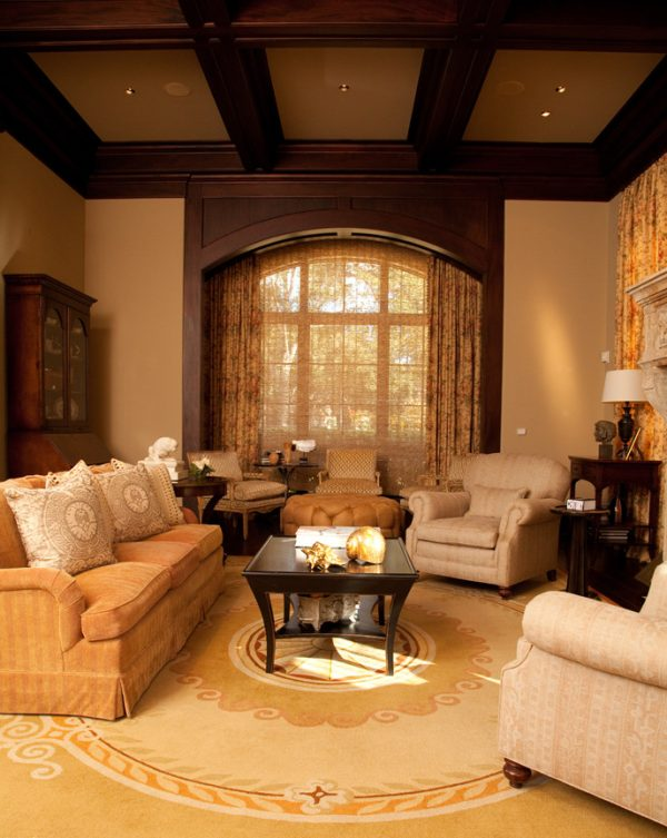living room decorating ideas and designs Remodels Photos grettworks Houston Texas United States transitional-living-room