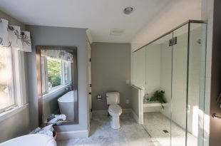 bathroom decorating ideas and designs Remodels Photos Karen Gallagher Interiors Greater Portland Maine United States transitional-bathroom