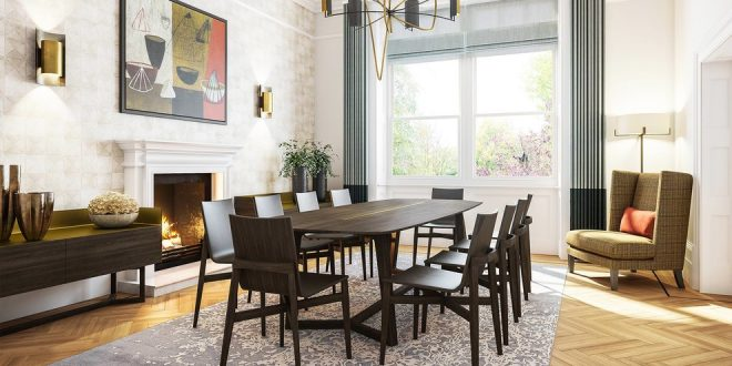 dining room decorating ideas and designs Remodels Photos Evoke Space La Verne California United States home-design-001