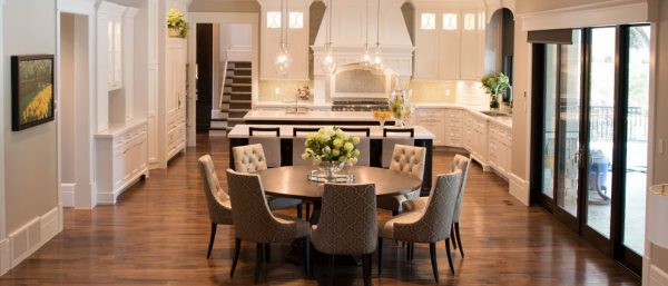 dining room decorating ideas and designs Remodels Photos Evoke Space La Verne California United States kitchen