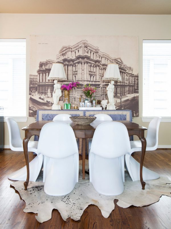 dining room decorating ideas and designs Remodels Photos Kristina Wilson Design Houston Texas United States eclectic-dining-room-001