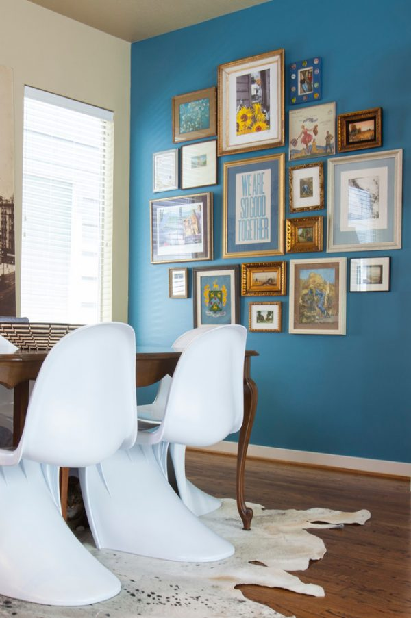 dining room decorating ideas and designs Remodels Photos Kristina Wilson Design Houston Texas United States eclectic-dining-room-002