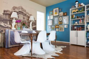 dining room decorating ideas and designs Remodels Photos Kristina Wilson Design Houston Texas United States eclectic-dining-room