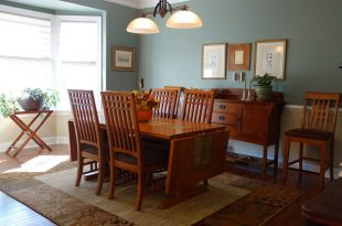 dining room decorating ideas and designs Remodels Photos Nest Interior Décor Ashburn Virginia United States craftsman-dining-room
