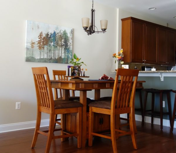 dining room decorating ideas and designs Remodels Photos Nest Interior Décor Ashburn Virginia United States craftsman-kitchen