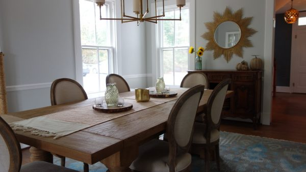 dining room decorating ideas and designs Remodels Photos Nest Interior Décor Ashburn Virginia United States dining-room-002