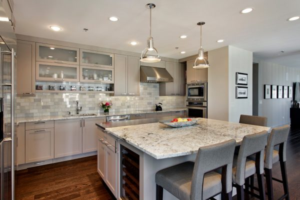 kitchen decorating ideas and designs Remodels Photos 2 Design Group Chicago Illinois United States contemporary-kitchen (4)