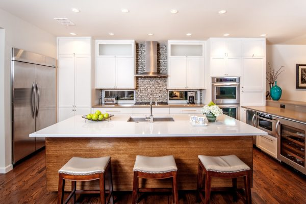 kitchen decorating ideas and designs Remodels Photos Associate Interiors Dallas Texas United States contemporary-kitchen