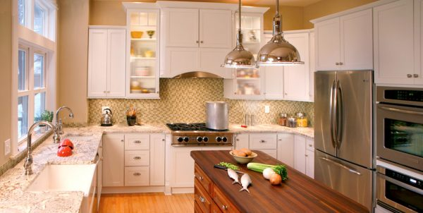 kitchen decorating ideas and designs Remodels Photos Bauer Clifton Interiors Juneau Alaska United States traditional-kitchen