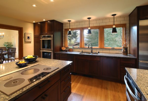 kitchen decorating ideas and designs Remodels Photos Bauer Clifton Interiors Juneau Alaska United States transitional-kitchen