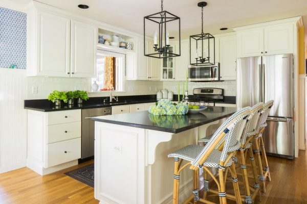 kitchen decorating ideas and designs Remodels Photos Bee's Knees Design, LLC Hopkinton Massachusetts United States transitional-kitchen-001