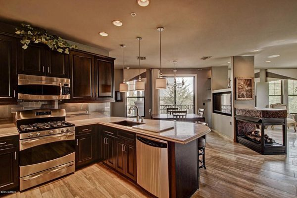 kitchen decorating ideas and designs Remodels Photos Cielo Interiors Scottsdale Arizona United States contemporary-kitchen-002