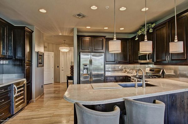 kitchen decorating ideas and designs Remodels Photos Cielo Interiors Scottsdale Arizona United States contemporary-kitchen