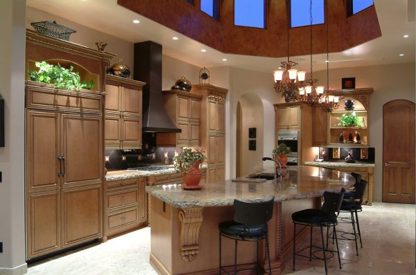 kitchen decorating ideas and designs Remodels Photos Cielo Interiors Scottsdale Arizona United States traditional-kitchen